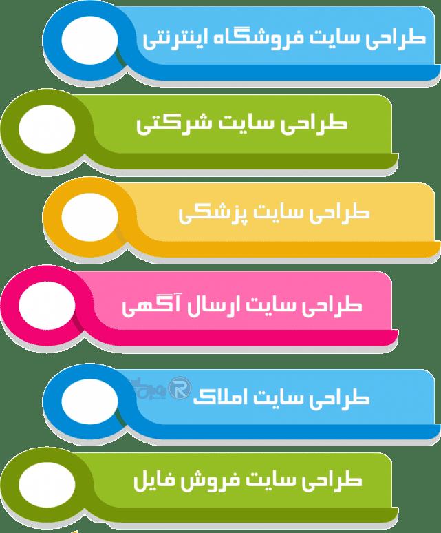 طراحی سایت در شیراز - رویال سایت